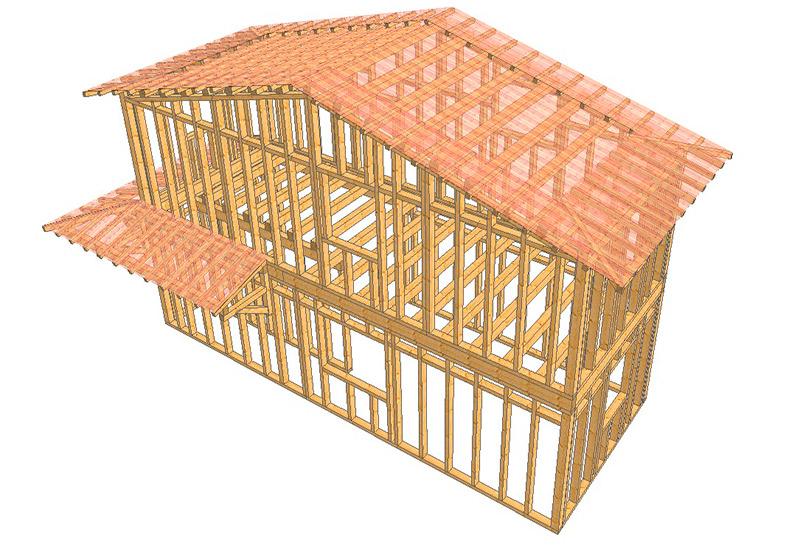 Telaio | Sistemi costruttivi per case
