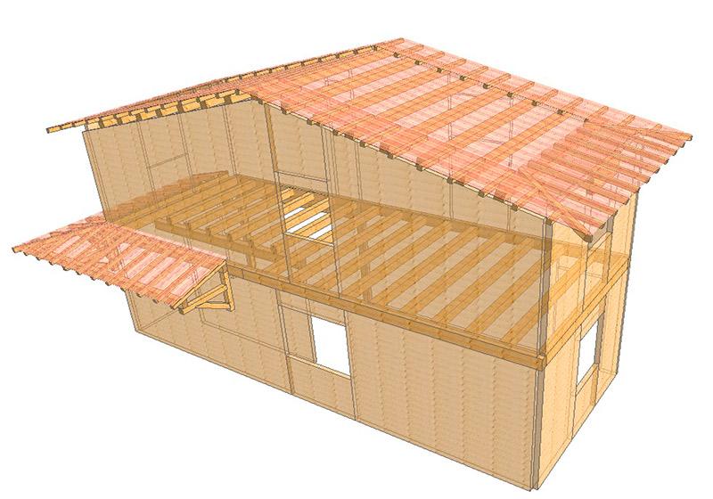 Nuovo XLAM | Sistemi costruttivi per case