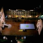 Pista pattinaggio - piazza grande Gubbio | Tecla soluzioni costruttive e case in legno