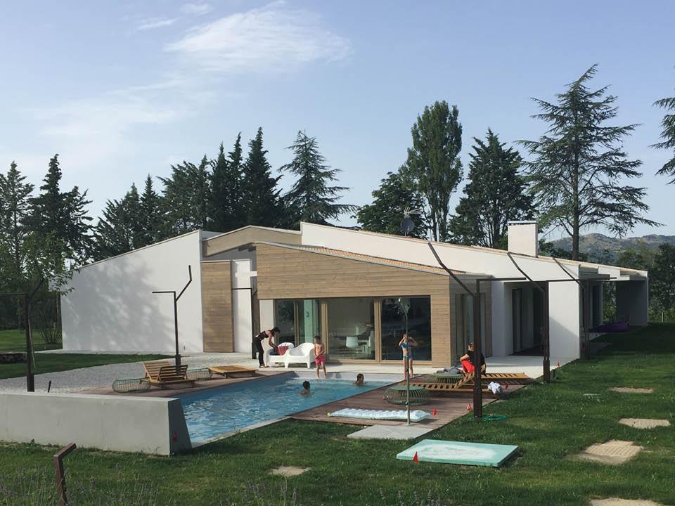 """GUBBIO, realizzazione di nuova copertura in legno - """"Tetto Ventilato"""""""